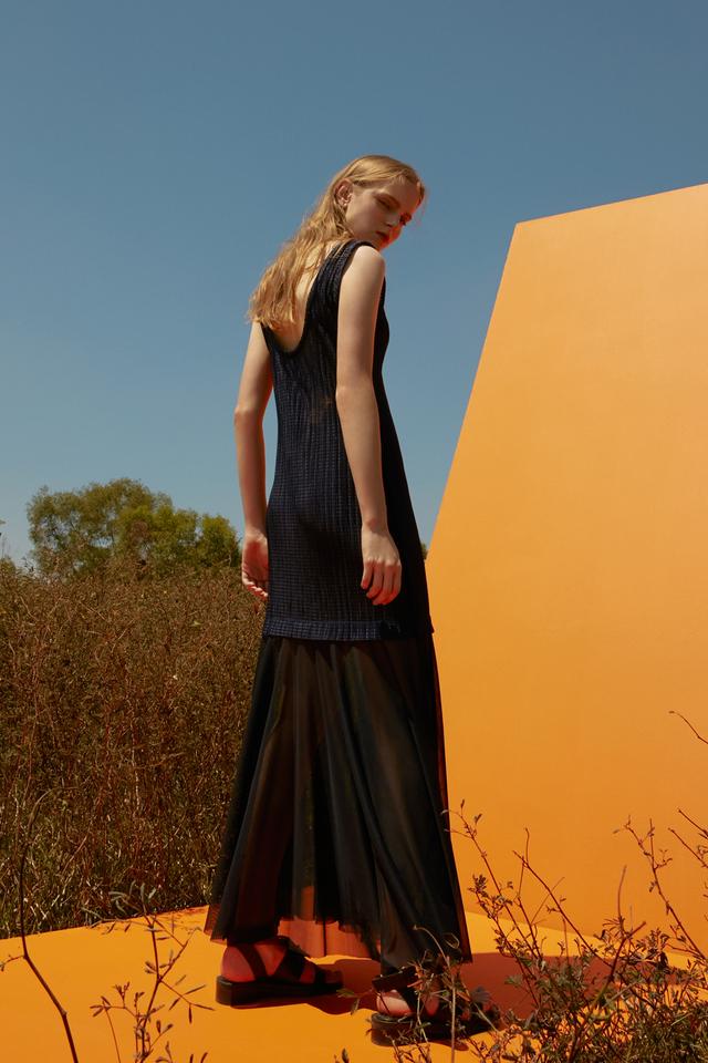 Textured Mesh Dress