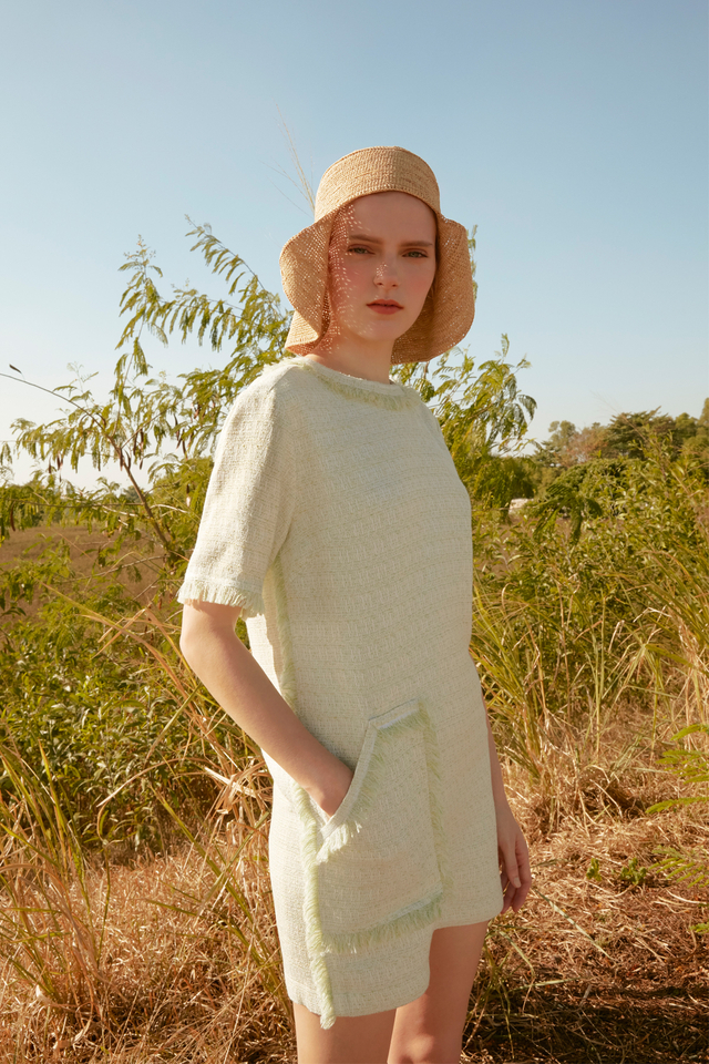 Summer Tweed Dress