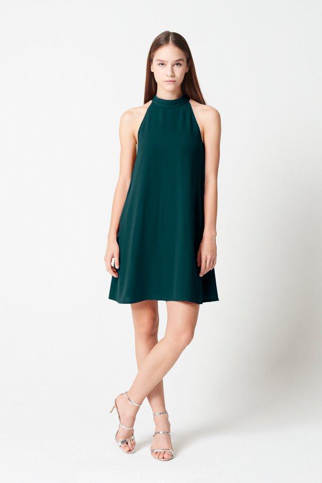 CUT-IN DRESS