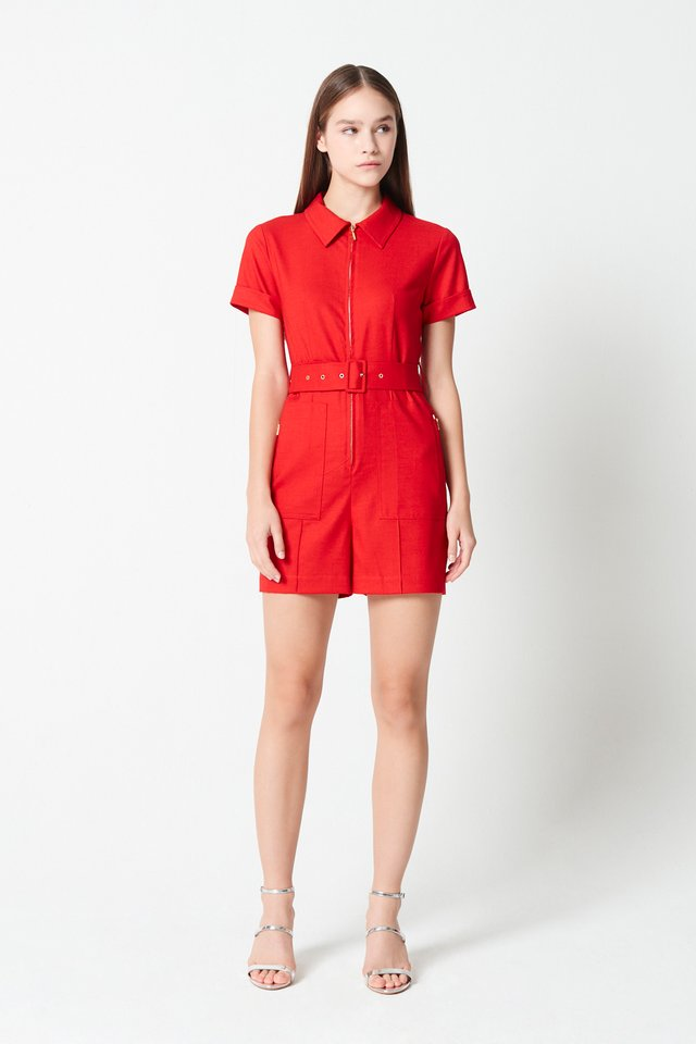 PATCH POCKET ROMPER
