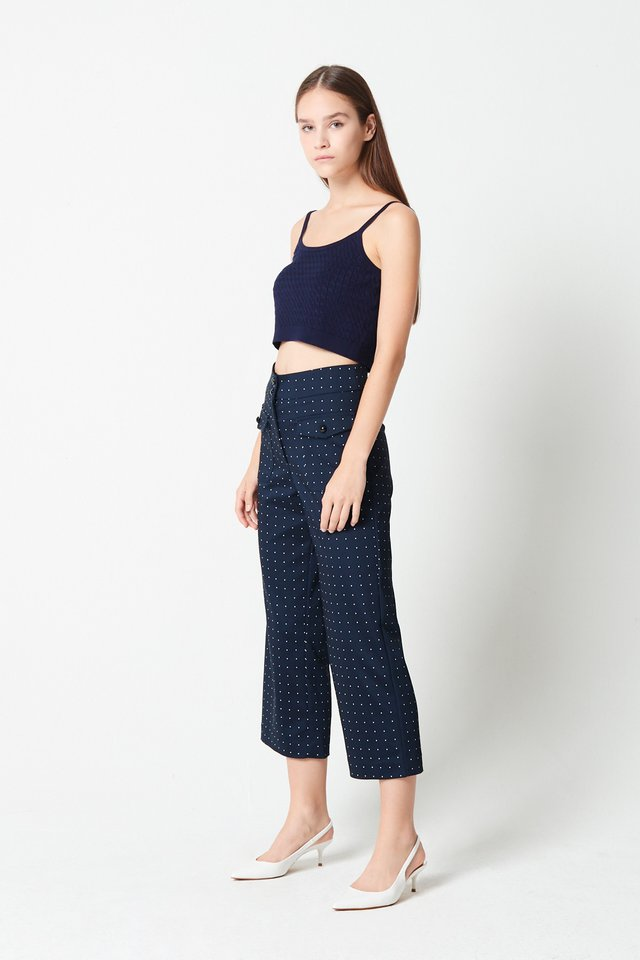 PATCH POCKET PANTS