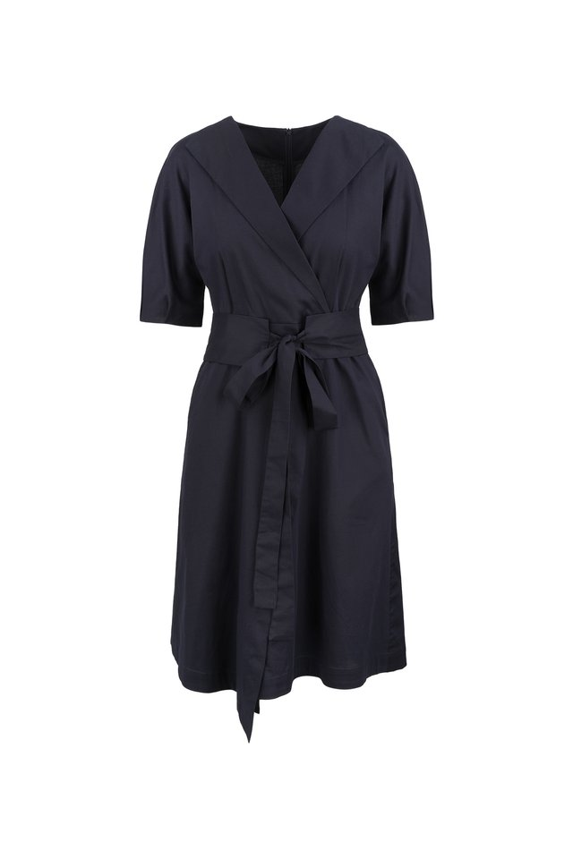 OBI BELT WRAP DRESS