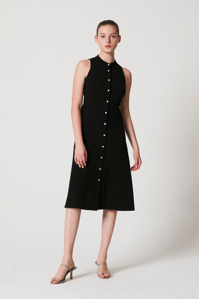 [PRE-ORDER] STAND COLLAR DRESS