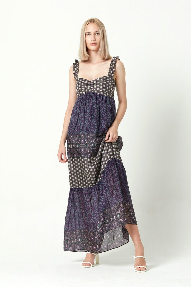 [PRE-ORDER] PRINTED MAXI DRESS