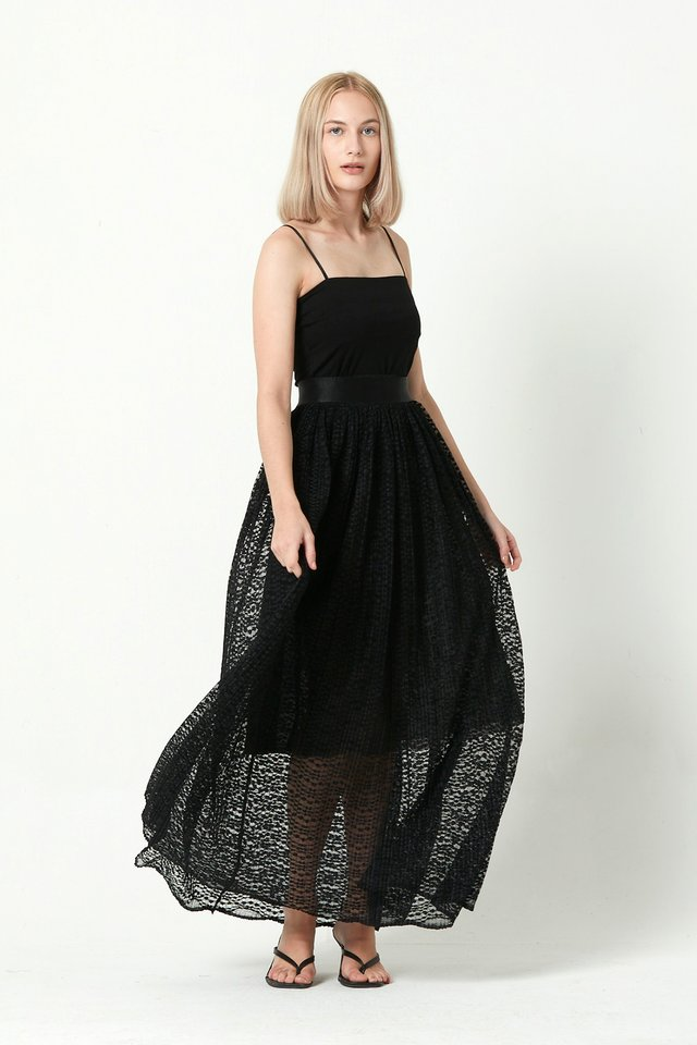 [PRE-ORDER] LACE SKIRT WITH INNER PIECE