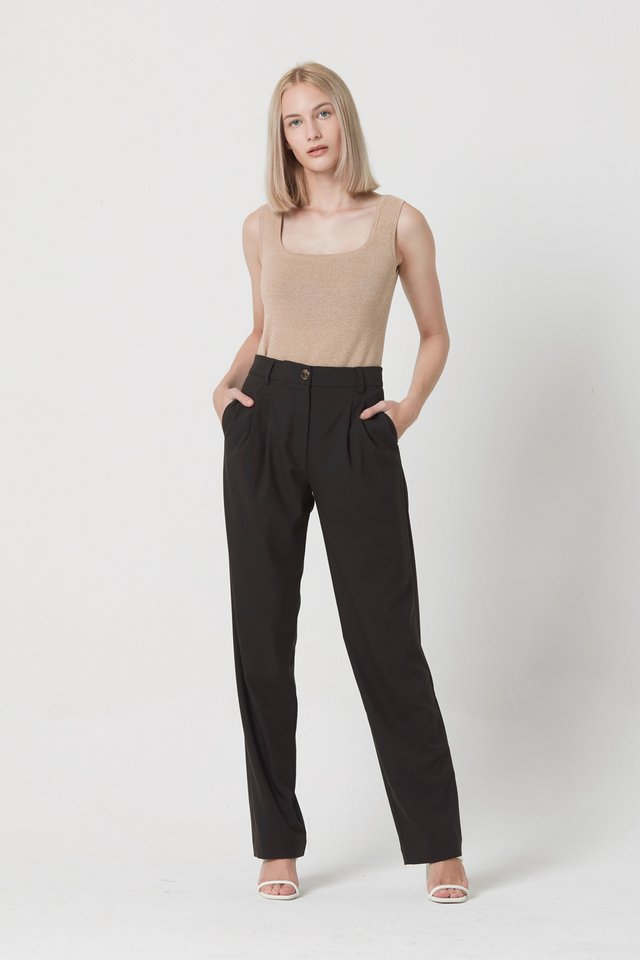 DOUBLE PLEAT PANTS