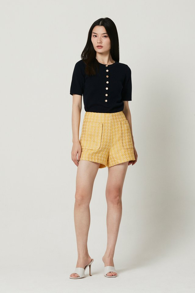 PATCH POCKETS SHORTS